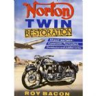 Norton Twins Restoration by Roy Bacon